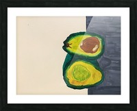 Ripe Avocados Picture Frame print