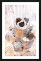 Metal Twist Picture Frame print