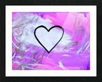 Love is a Feeling. Jessica B Picture Frame print