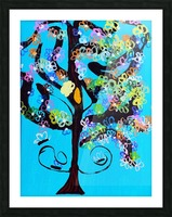 Free Spirit Tree. Molly H Picture Frame print