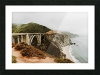 Bixby Bridge California Impression et Cadre photo