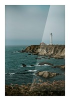 Point Arena Lighthouse California Impression et Cadre photo