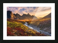 Mountain Paradise Picture Frame print