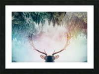 Antler Picture Frame print