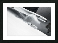 Cloud of Snow Picture Frame print