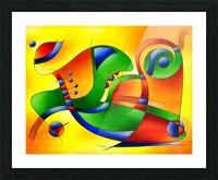 Antaressa - colourful world Picture Frame print