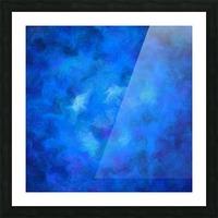 Denitamessa - deep blue world Picture Frame print