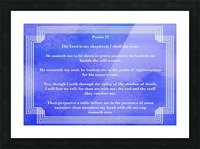 Psalm 23 2BL_1547777687.78 Picture Frame print