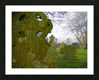 Irish Cemetery Picture Frame print