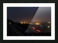 Night Scene from Signal Hill 7 Picture Frame print
