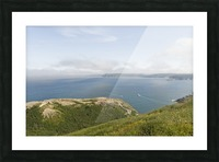 Vista from Signal Hill Picture Frame print