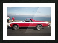 GMC Sprint Utility Pickup coupe combo Picture Frame print