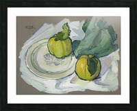 Still Life with Quince Picture Frame print
