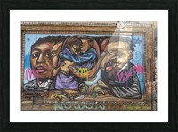 Torontos Graffiti Alley  9 Picture Frame print
