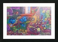 Torontos Graffiti Alley  17 Picture Frame print