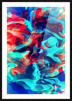 VIVID Abstraction II Picture Frame print