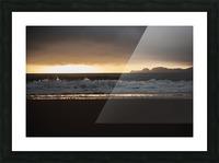 San Francisco Sunset Impression et Cadre photo