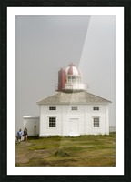 Original Cape Spear Lightkeepers house and light tower built in 1836 2 Picture Frame print