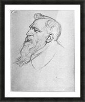 Auguste Rodin Picture Frame print
