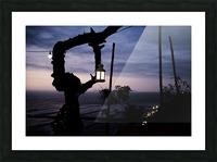Lanterne de Lima Picture Frame print