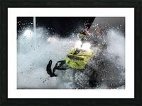 Chez nous c'est Ski-doo  Picture Frame print