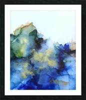 Tip of the Iceberg Picture Frame print