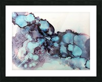 Turquoise Dream Picture Frame print