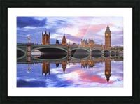LON 005 Big Ben  Picture Frame print