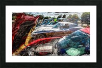 Corvette Row Picture Frame print