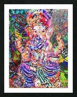 Divertido Ganesh  Picture Frame print