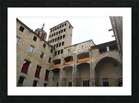 Barcelona Gothic Quarter Picture Frame print