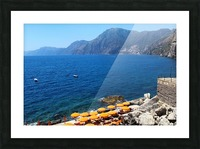 Praiano Beach - Amalfi Coast Picture Frame print