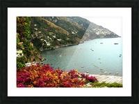 Amalfi Coast landscape  Picture Frame print