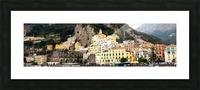 Amalfi Coast Super Panoramic  Picture Frame print
