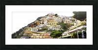 Italy Landscape - Positano Picture Frame print