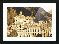 Landscape - Amalfi Village - Italy Picture Frame print