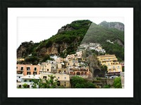 Landscape - Beautiful Village - Italy Picture Frame print
