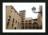 Gothic Quarter - Catalunya - Spain Landmark Picture Frame print