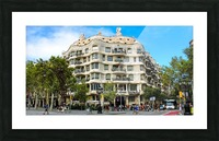 Spain Landscape - Casa Battlo   Picture Frame print
