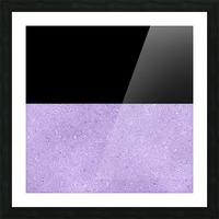 ABSTRACT PURPLE GLITTER Picture Frame print