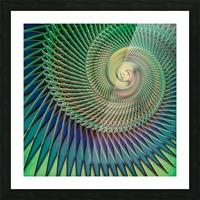 Composition Logarithmique Picture Frame print