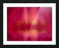 Red Sky at Night Picture Frame print