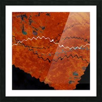 Ancient Paths Picture Frame print