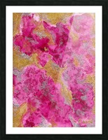 pink Picture Frame print