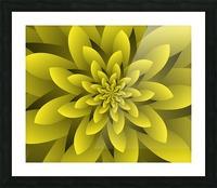 Spring Floral Picture Frame print