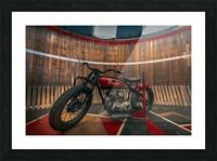 1927_Indian_Scout_Motorcycle Picture Frame print