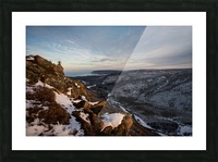Franey Winter Picture Frame print