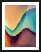 Proboscidean Dreamscape Picture Frame print