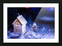 Christmas is coming Picture Frame print