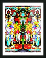 astrally activated Picture Frame print